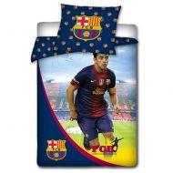 Pościel 160 x 200 cm Carbotex FC Barcelona Xavi