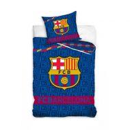Pościel 160 x 200 cm Carbotex FCB Barcelona