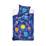 Pościel 160 x 200 cm Carbotex Homeline Kids kosmos