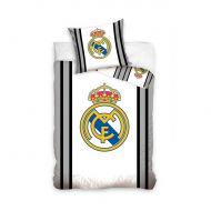Pościel 160 x 200 cm Carbotex Real Madrid godło