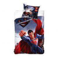 Pościel 160x200 Carbotex Superman Człowiek ze stali