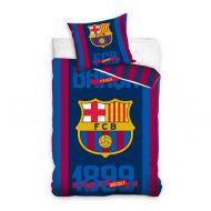 Pościel 160x200cm Carbotex FC Barcelona / logo, data