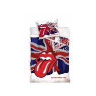 Pościel The Rolling Stones 160 x 200 cm Carbotex biała