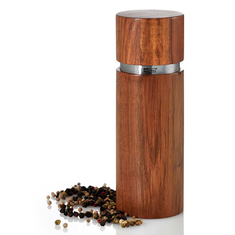 młynek do mielenia przypraw adhoc drewniany