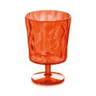 Pucharek deserowy 0,25 L Koziol CRYSTAL 2.0 pomarańczowo-czerwony