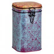 Puszka na herbatę 250g Eigenart Orientalna niebiesko-fioletowa