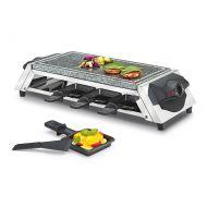 Raclette dla 8 osób Kuchenprofi Style