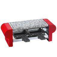Raclette grill stołowy Kuchenprofi czerwony