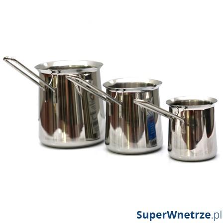 Rondelek do spieniania mleka i kawy po turecku 400 ml Kuchenprofi KU-1010772804
