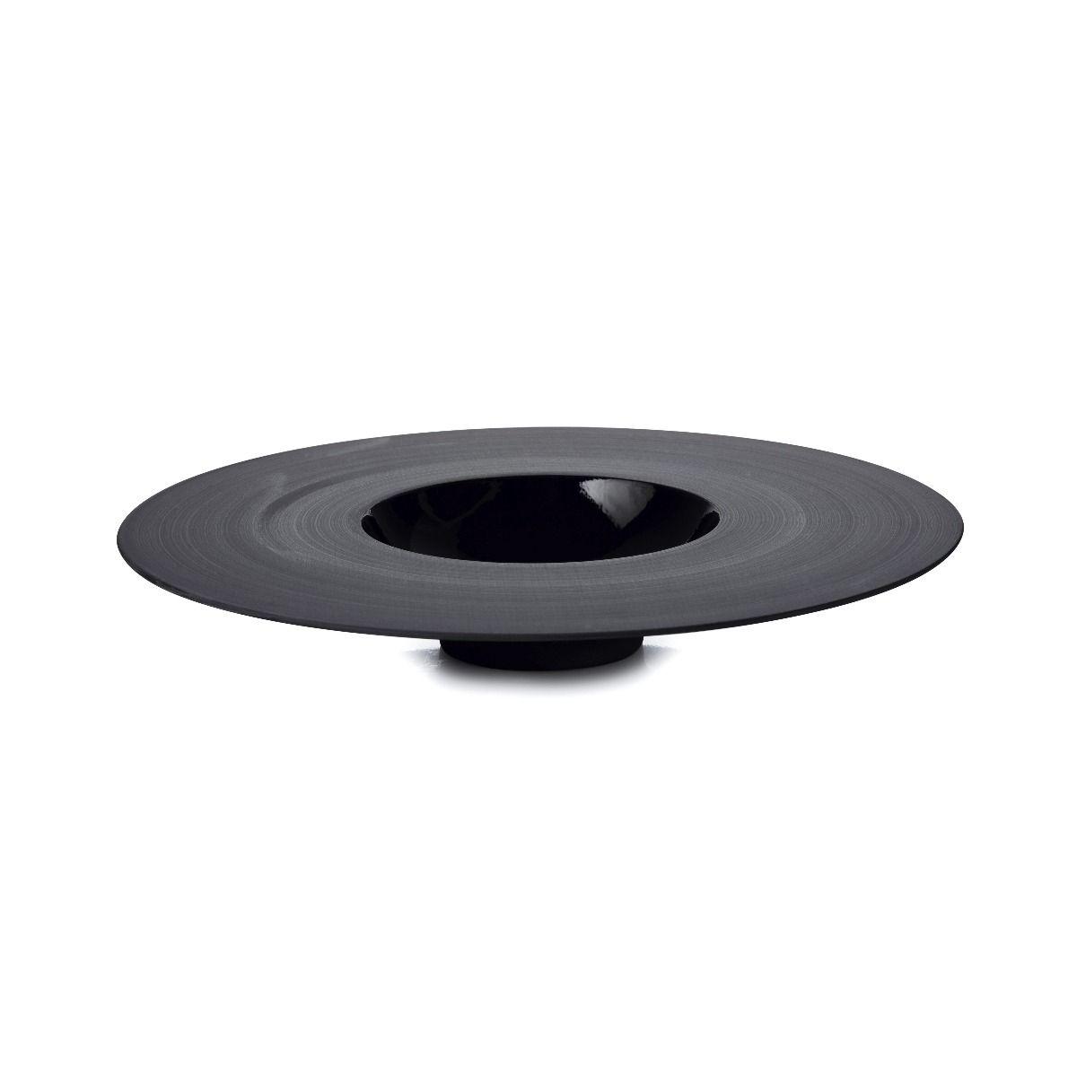 Talerz 30,3 cm Sphere Revol czarny