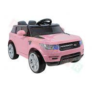 Samochód na akumulator- Runner Ultimar różowy