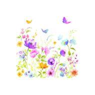 Serwetki deserowe 20 szt. Nuova R2S Napkins polne kwiaty