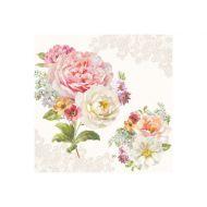 Serwetki 3-warstwowe 20szt Nuova R2S Napkins polne kwiaty