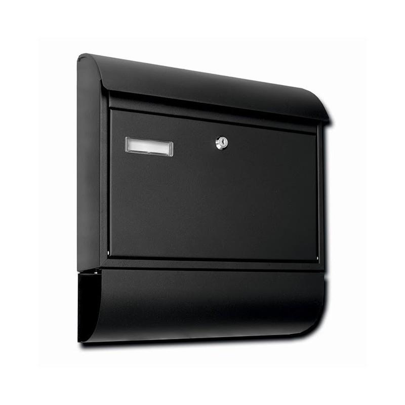 Skrzynka na listy i gazety MP-8R czarna