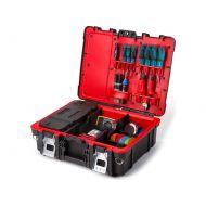Skrzynka na narzędzia 48x17cm Keter Technican Box czarno-czerwona