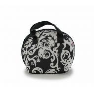 Lunch bag Vintage 25x32cm Smart Lunch Smartsoft Rubber czarno-biała
