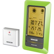 Stacja meteorologiczna z czujnikiem bezprzewodowym pomiaru temperatury Sencor SWS 200 GN
