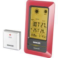 Stacja meteorologiczna z czujnikiem bezprzewodowym pomiaru temperatury Sencor SWS 200 RD