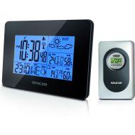 Stacja pogody z czujnikiem bezprzewodowym pomiaru temperatury i wilgotności Sencor SWS 51 B