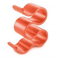 Stojak na butelki Koziol Boa pomarańczowo-czerwony