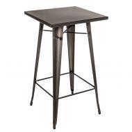 Stół barowy 60x60x106cm D2 Paris metaliczny