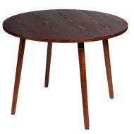 Stół śr. 100 cm D2 Copine orzech-brąz