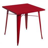Stół 76x76cm D2 Paris czerwony