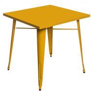 Stół 76x76cm D2 Paris żółty