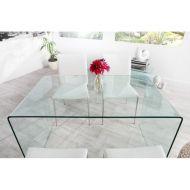 Stół do jadalni 120x70x75cm D2 Spektrum szkło hartowane
