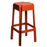 Stołek D2 barowy Sarjeta orange