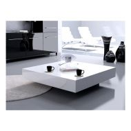 Stolik D2 Big Quadrat 100 biały czarny 30