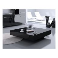 Stolik kawowy 100x100x25cm D2 Big Quadrat 100 czarny