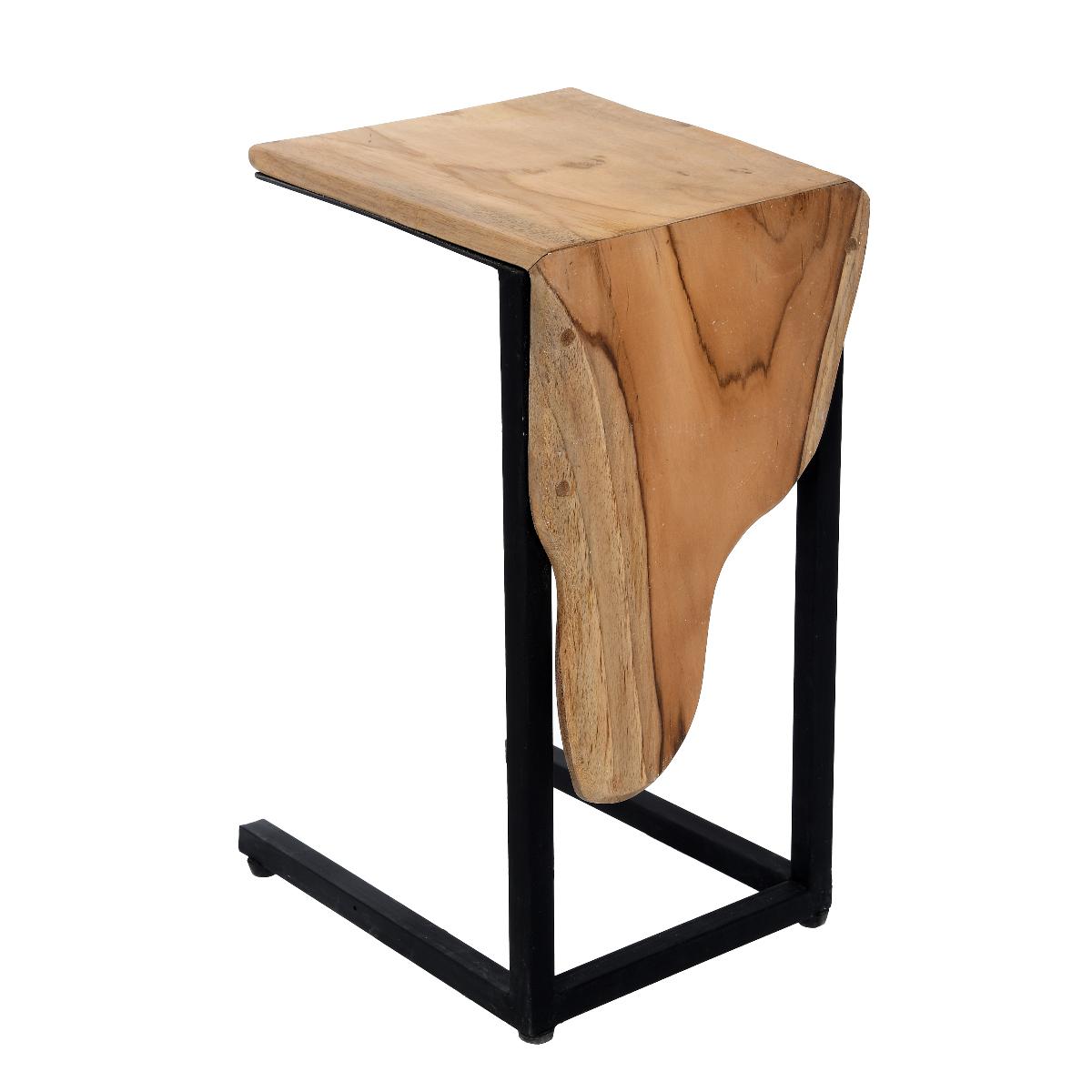 Stolik boczny Drum 30x32x50 cm