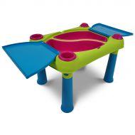 Stolik dla dzieci 56x79x50cm Bazkar Creative Fun jasnozielony-fioletowy
