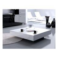 Stolik D2 Small Quadrat 80 biały wenge 35