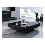 Stolik kawowy 80x80x25cm D2 Small Quadrat czarny