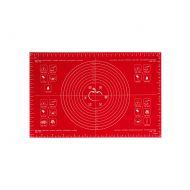 Stolnica silikonowa 40 x 60 cm Mastrad czerwona
