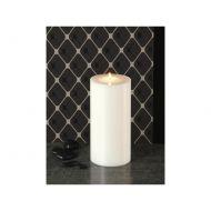 Świeca na tealighty Lux 10x21 cm Lux Living biała