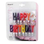 Świeczki urodzinowe Happy Birhtday 13szt Dexam