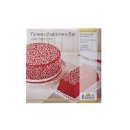 Szablony do dekoracji tortów CURLS 2 szt. Birkmann Cake Couture