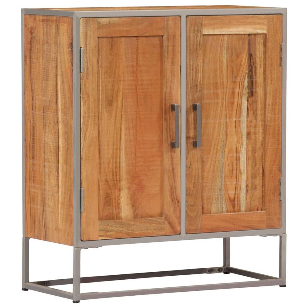 Szafka, 65x30x75 cm, z litego drewna akacjowego
