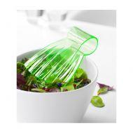 Szczypce do sałaty 18 cm akryl zielone