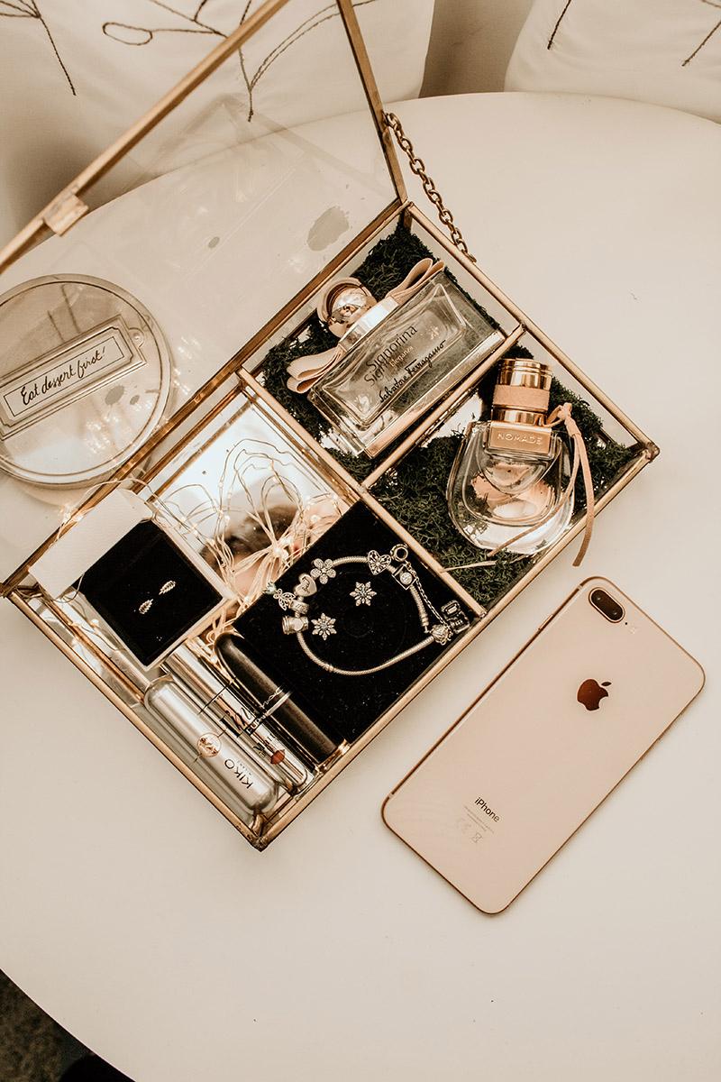 szkatułka na biżuterię na dzień kobiet