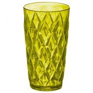 Szklanka 450 ml Koziol CRYSTAL L oliwkowa zieleń