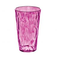 Szklanka na zimne napoje 0,45 L Koziol CRYSTAL 2.0 różowa