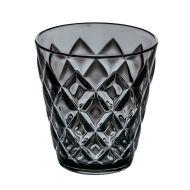 Szklanka na napoje 200ml Koziol Crystal S antracytowa