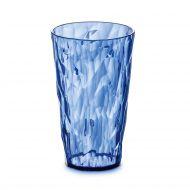 Szklanka na zimne napoje 450 ml Koziol CRYSTAL 2.0 niebieska