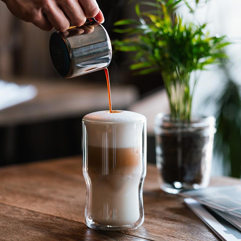 szklanka do kawy z ekspresu