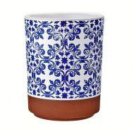 Szklanka z nadrukiem 7,5cm Ladelle Tapas niebieska