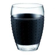 Komplet 2 szt. szklanek 0,45 l Bodum Pavina czarne